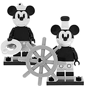 LEGO 71024 Disney - Figuras de Mickey Mouse y Minnie Mouse (2 Unidades) 7