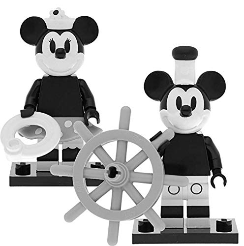 LEGO 71024 Disney - Figuras de Mickey Mouse y Minnie Mouse (2 Unidades) 1