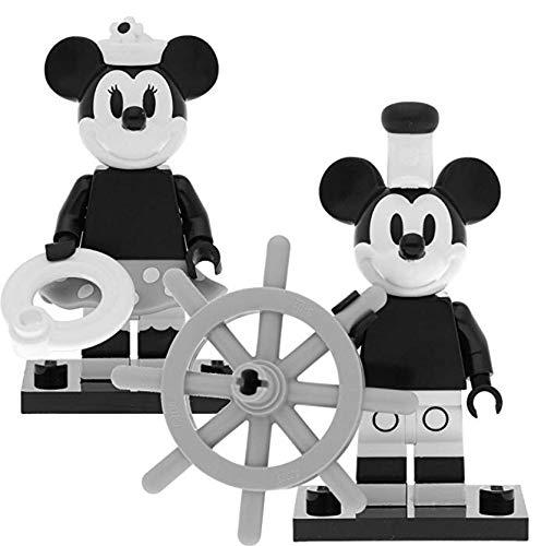 LEGO 71024 Disney Serie 2 Minifiguren: Vintage Micky Maus #1 & Minnie Maus #2