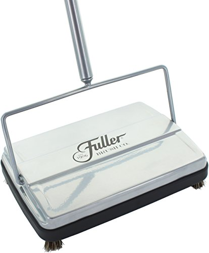 Fuller Carpet Sweeper Electrostatic Floor Cleaner - Metallic Silver
