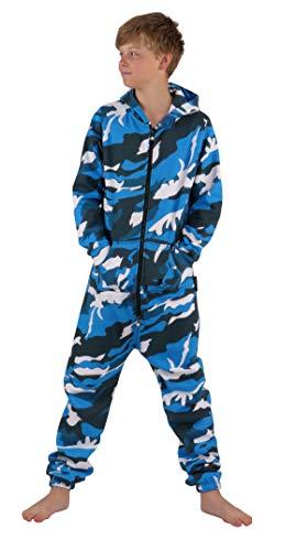 O'Poppy Kinder Jumpsuit einteilig (110-116, camo blau)