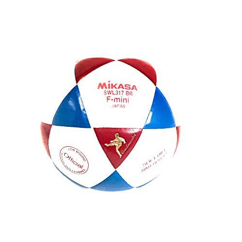 Mikasa SWL317 - Balón de fútbol para Interior, Color Rojo y Azul ...