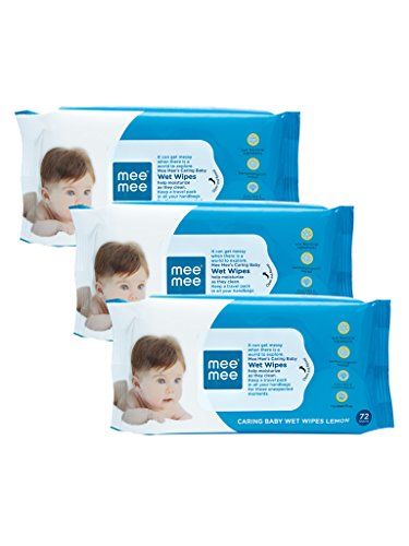 Mee Mee Caring Wet Baby Wipes