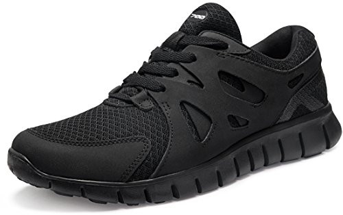 CLSL TF-X700-BKO_Men 9.5 D(M) Tesla Men's Lightweight Sports X Series Running Shoe X700 (True to Size)