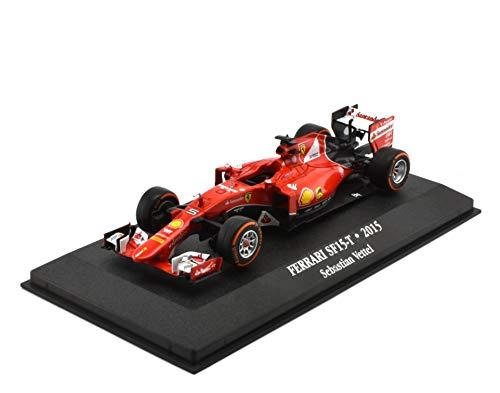 OPO 10 - Coche 1/43 Compatible con Ferrari SF15-T - 2015 Sebastian Vettel (Ref: 7174007)