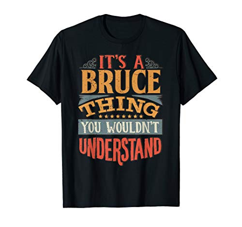 Bruce Name T-Shirt