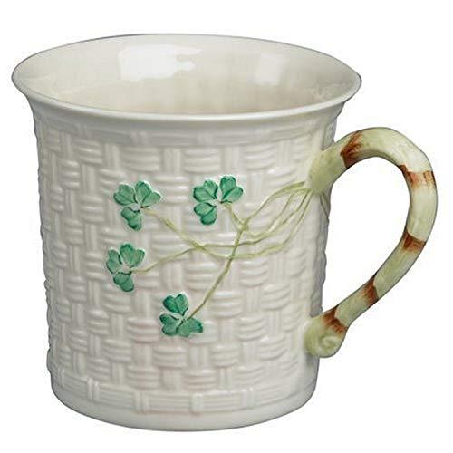 Belleek Shamrock Mug, 11 oz.