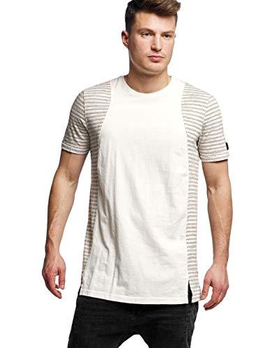 Black Kaviar Herren T-Shirt Skokie beige - 304801 XL