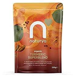 **Quality**   The turmeric used in our Superblend is sourced from India and has been certified organic by the Soil Association, is kosher and free from GMO's. A lot of care, attention and extensive testing has gone into making sure that we are using ...