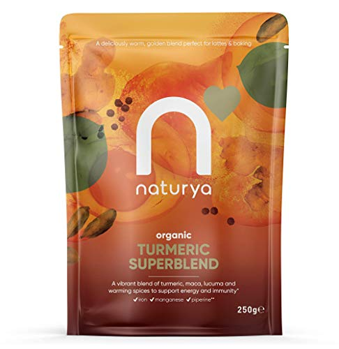 Naturya Superfoods FID54504 Turmeric SuperBlend Powder,