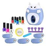FEEE-ZC Nail Stamper, Kit de decoración de uñas para...