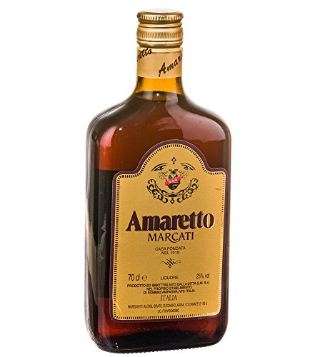 Marcati Amaretto Likör / 25% Vol. / 0,7 Liter-Flasche