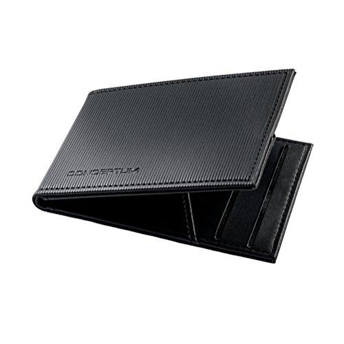 SIGEL CO901 Conceptum Tarjetero cartera, protección RFID y NFC, negro