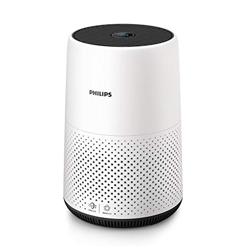 Philips AC0820/20 Air Purifier, removes 99.5% airborne particles as small as 0.003 microns (White)
