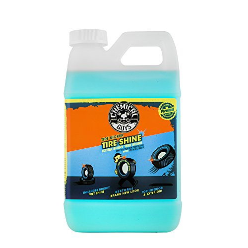 Chemical Guys TVD11364, Tire Kicker Extra Glossy Premium Sprayable Tire Shine Dressing for Vinyl, Rubber and Plastic, 64 Oz