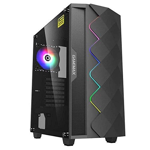Fierce Enforcer RGB Gaming PC - Veloce 4.2GHz Hex-Core AMD Ryzen 5 3600, 2TB Disco Rigido, 16GB 3000MHz, NVIDIA GeForce GTX 1050 Ti 4GB, Finestre non Incluso 967448