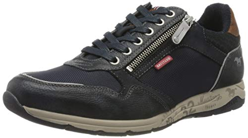 Mustang 4106-316, Zapatillas de baloncesto para hombre, Azul (820 Marine), 47 EU