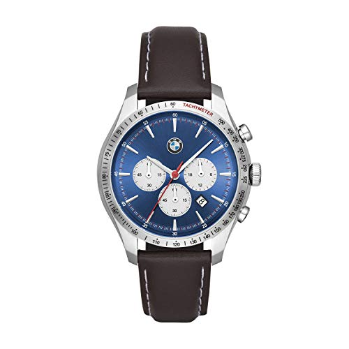 BMW Herren Chronograph Quarz Uhr with Leder Armband BMW7000