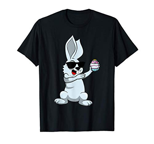 Dabbing Osterhase Kinder Dab Tanz Osterhase Ostern T-Shirt