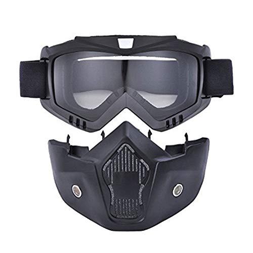 Viper Moto Accessoires A196 filtre x4 pour lunettes et masque, Noir, taille unique