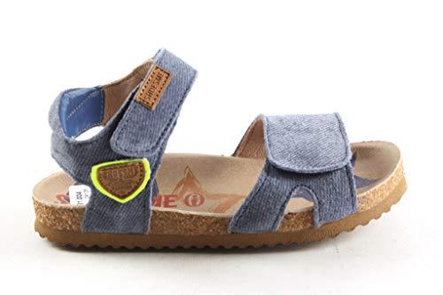 Jongens Sandalen Sportief Shoesme B19s089-d Jeansblauw - Maat 24