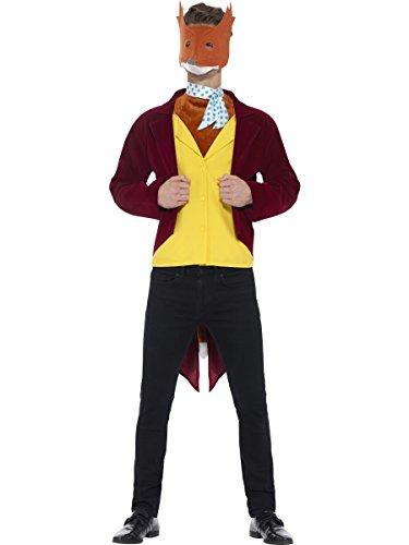 Smiffy 's Hombre Oficial Roald DahlFantastic Mr. Fox disfraz (Tamao Mediano)