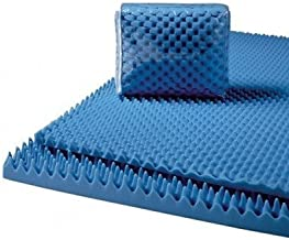 Convoluted Foam Mattress Pads Size: Queen, Thickness: 3