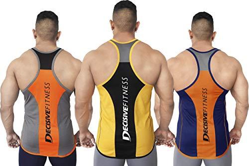 DECISIVE Men's Slim Fit Vest