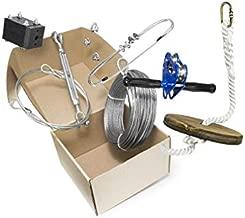 200' Chetco Zip Line Kit w/ Seat & Carabiner