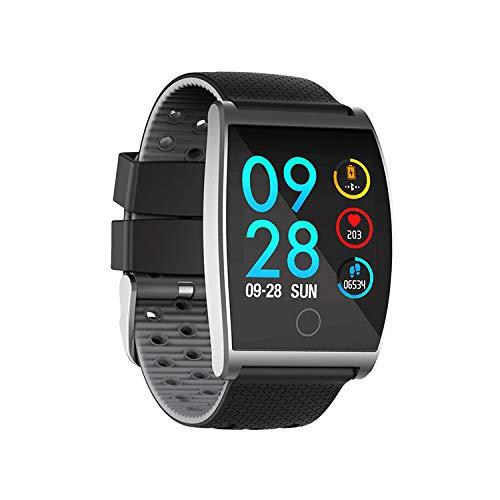 YWXG Fitness Armband mit Pulsmesser,Wasserdicht IP68 Fitness Tracker Farbbildschirm Aktivitätstracker Pulsuhren Schrittzähler Uhr Smartwatch Vibrationsalarm Anruf SMS Beachten für iOS Android Handy