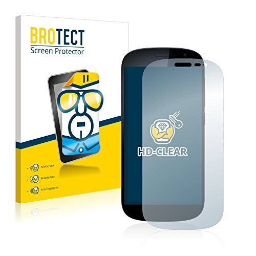 BROTECT Schutzfolie kompatibel mit Yota Devices YotaPhone 2 (2 Stück) klare Bildschirmschutz-Folie