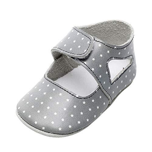 H.eternal(TM) Baby-Stiefel für Neugeborene, Mädchen, Jungen, Cartoon-Schuhe, Lauflernschuhe, Sneakers, Kinderbettschuhe, Winterschuhe, warme Babyschuhe, Silber - silber - Größe: 31 EU