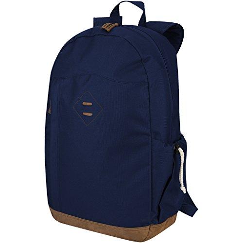 Slazenger Chester 15.6 Zoll Laptop Rucksack (30 x 12.5 x 47cm) (Marineblau)
