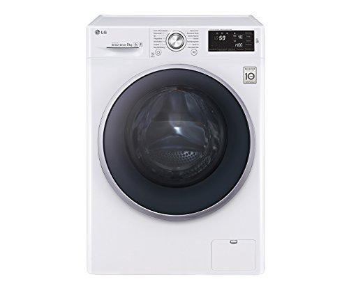 LG Electronics F 14U2 VDN1H Waschmaschine FL / A+++ / 152 kWh/Jahr / 1400 UpM / 9 Kg / 9500 liter/jahr / 14 vorprogrammierte Programme / Smart Diagnosis