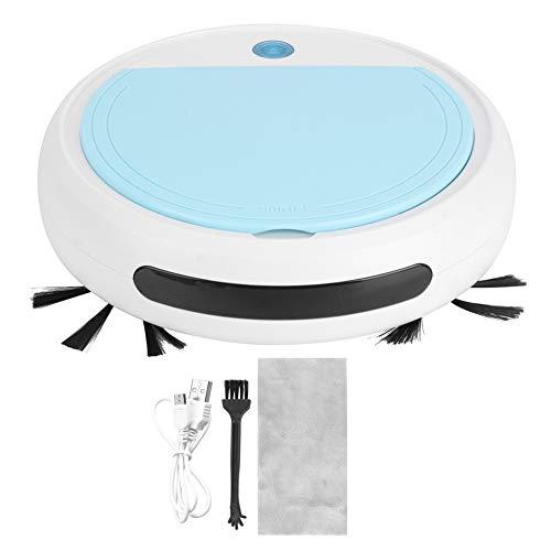 Robot Aspiradora - 4 En 1 Alfombra Barrendero con Automático Torneado Función - Casa Usar Automático Delgada Barriendo Robot por Azulejos De Cerámica & Suelos De Madera - 90 Minutos De Batería La Vida