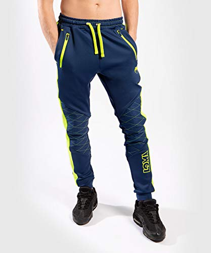 Venum Origins Jogginghose, Unisex-Erwachsene Herren, Jogger-Hosen, Origins Joggers Blue/Yellow - XL, blau/gelb, X-Large