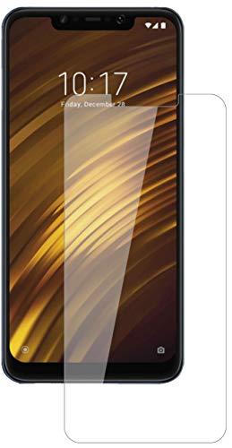 dipos I 2X Panzerfolie matt kompatibel mit Xiaomi Pocophone F1 Schutzfolie 9H Displayschutz-Folie