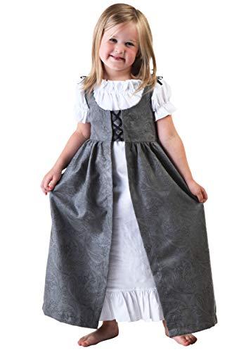 Toddler Girls Renaissance Faire Costume Toddler White