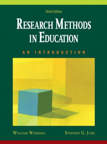 Research Methods in Education: An Introduction (9th Edition)