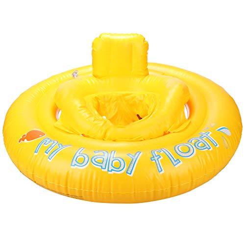 com-four® Baby Schwimmring - Schwimmreifen für Kleinkinder - Aufblasbare Schwimmhilfe für Babys bis 11 kg