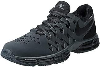 Nike Men's Lunar Fingertrap Cross Trainer, Anthracite/Black, 9.0 Regular US