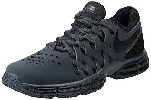 Nike Men's Lunar Fingertrap Cross Trainer, Anthracite/Black, 9.5 Regular US