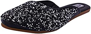 Zoya Foot Collection Presents Women'sGirlsLadies Flat Ethnic Stylish Designed Bailies Footwear |Women's Fashion Black & Si...
