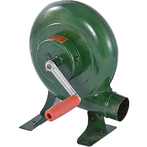 XJZKA Soplador de Barbacoa, soplador de forja Manual de Herrero, soplador de Aire de Barbacoa portátil para Fuelle de Fuego de Barbacoa al Aire Libre, Camping y Senderismo, Picnic