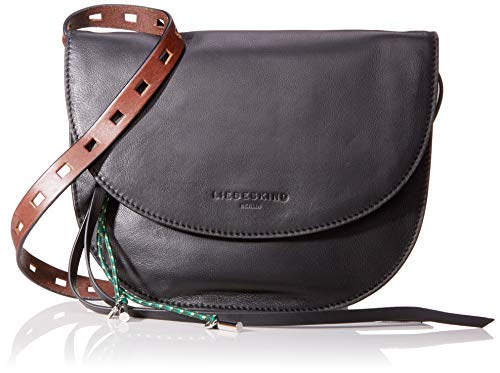 Liebeskind Berlin Damen Dive Bag Clutch Small, Schwarz (Schwarz (Black), 2.0x21.0x21.0 cm