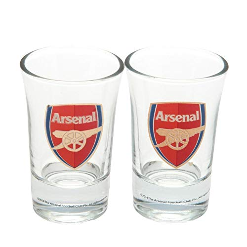 Official Arsenal FC Shot Glass Set - by Arsenal F.C.