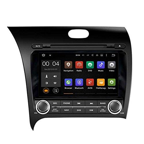 Autosion Android 10 Lecteur DVD de Voiture GPS Radio Head Unit Navi stéréo multimédia WiFi pour Kia Cerato Forte K3 2013 2014 2015 2016 2017 Support Commande au Volant