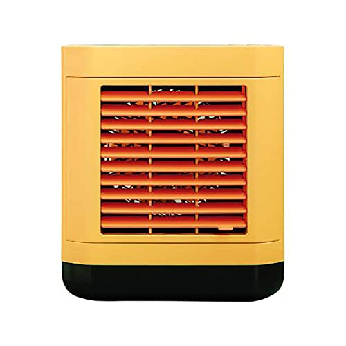 FDSZ Small Negative Ion Air Conditioner Fan Portable Household Mini Fan Office Desktop Air Cooler