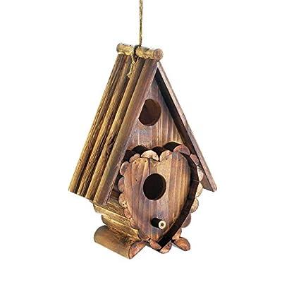 Wooden Bird Cottage Birdhouses