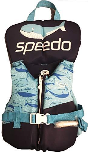 Speedo Aquaprene Personal Flotation Device - Infant - Blue with Whales